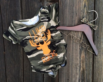 Baby sized Personalized Hanger w/ Bow