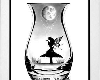 Magic in the Moonlight. Fairy Art. Moonlight