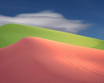 Modern art contemporary abstract photograph Imperial Sand Dunes #2 surreal