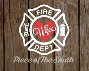 Fire Wife Decal