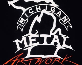 Michigan Metal Artwork Gift Card