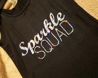 Sparkle Squad TANK for Bachelorette Party!