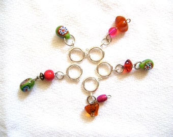 Stitch Markers for the Knitter - Set of 5