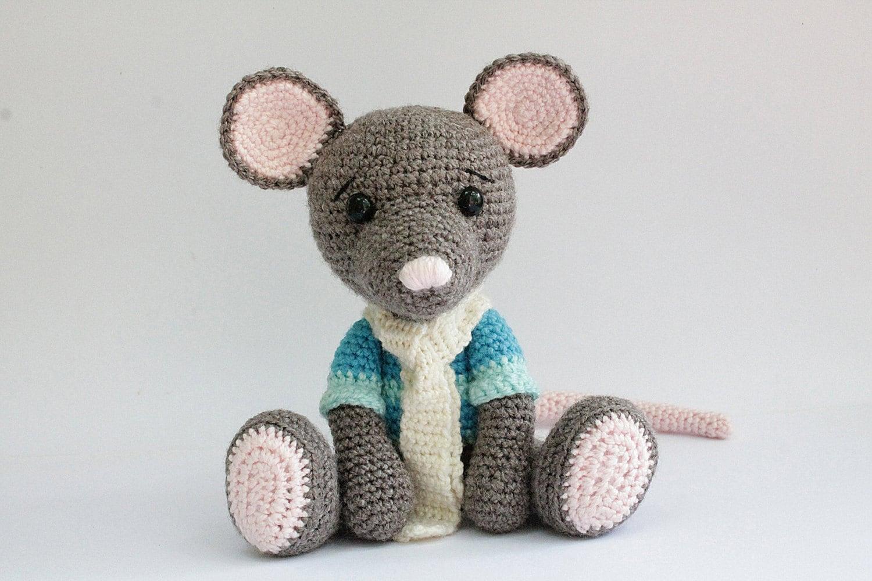PATTERN : Mouse -Mice - Amigurumi Mouse pattern-Crochet pattern ...