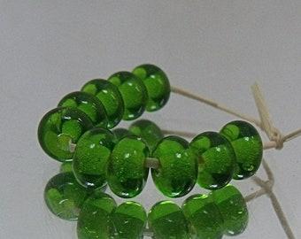 Meadow, Lampwork Spacer Beads, SRA, UK
