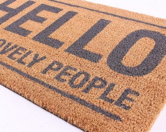 Doormat wiper Lovely People