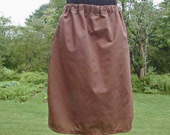 Girl's Brown Skirlottes