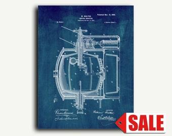 Patent Print - Coffee-roaster Patent Wall Art Poster