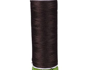 Walnut Brown Gutermann Recycled Polyester Thread (GT696)