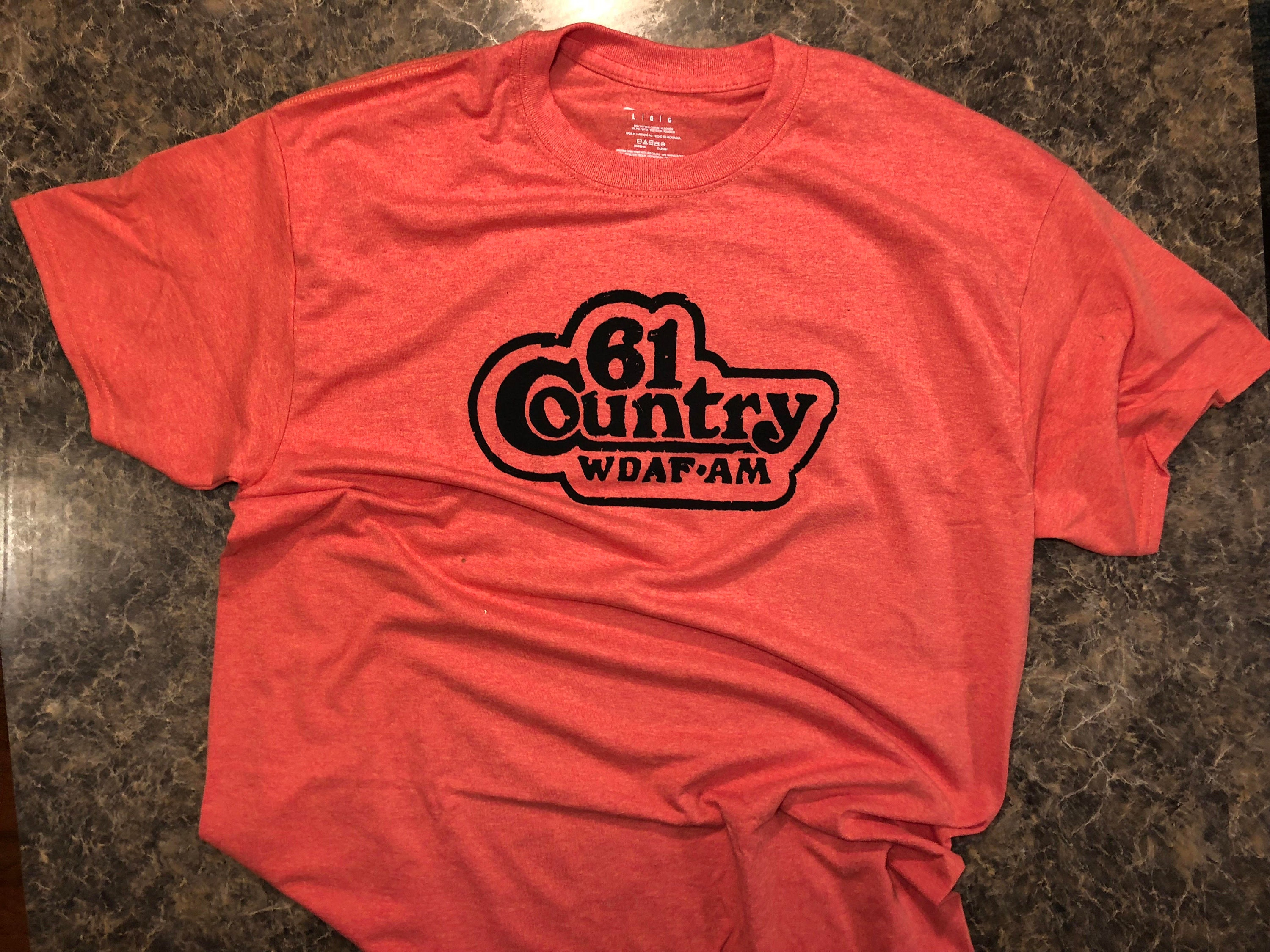 61 Country WDAF Kansas City Radio T Shirt