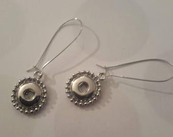 holder for MINI 12 mm snap button earrings