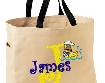 FUN TOTE Just Duckie   Personalized FREE