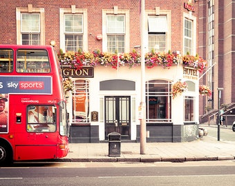 london print london bus print london photography london artwork london art print street photography europe print travel photography fine art
