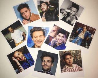 OT5, Larry, Ziam, Zarry, Narry, Zouis, Lilo, Ziall or Nouis Polaroids. Sets of 10