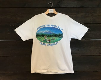 Vintage 90s Premier One Royal Jelly Tee