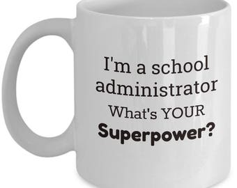 School Administrator Gift | Special Gift for School Secretary | Gift from Principal | Back to School Gift