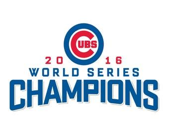 Chicago Cubs Cut Files SVG Baseball Clipart Cricut Cutting
