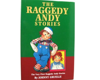The Raggedy Andy Stories - Vintage Kids Book - Raggedy Ann - Johnny Gruelle - Rag Doll - Storybook - Marecellas Stories - Childs Book