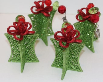 Christmas Present Tablecloth Weights Set of 4