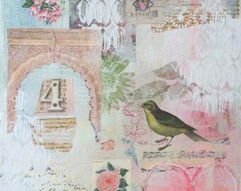 Abstract fine art print 'Alhambra'