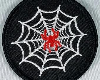 Cobweb Spider! Patch. Web