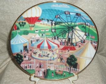 American Folk Art County Fair by Steven Klien fine porcelain collection