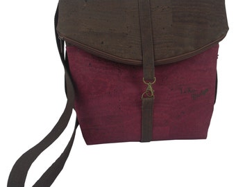 LeKo-Design cork bag convertible to backpack