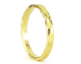 22k Gold Wedding Ring - 22k Wedding Band