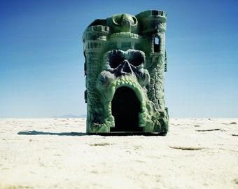 Castle Grayskull • Masters of the Universe He-Man • Giclée Art Print Toy Photography