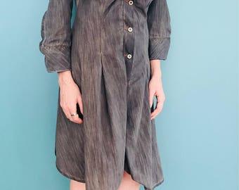 Vivienne Westwood x Lee dress. Asymmetrical Denim dress. Twisted fit dress. Vivienne Westwood. Lee. Asymmetrical dress. Denim clothing.