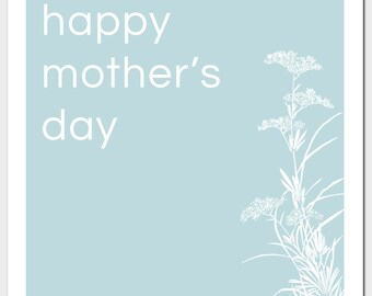 Mother's Day Queen Anne's Lace Greeting Card
