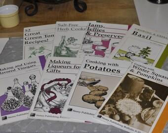 Eight Storey Publishing Bulletin Cook/Canning Books