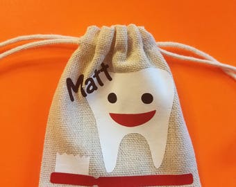 Tooth fairy | tooth bags | Personalized