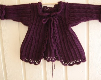 Victorian Child's or Toddler's Jacket Pattern