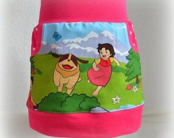 "Skirt with pockets ""Heidi"""