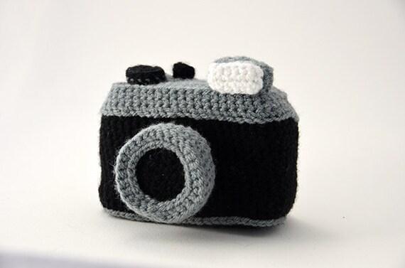 Häkelanleitung Spielzeug-Fotoapparat