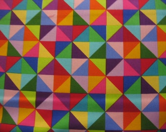 Sale - Colorworks Concepts triangles by Northcott -2 yards
