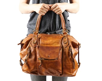Large Leather bag, Leather Cross Body, Brown Leather Bag, Leather Tote Women, Women Leather Tote, Brown Leather tote, Large Leather Tote