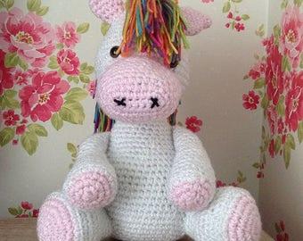 Adorable Crochet Pony