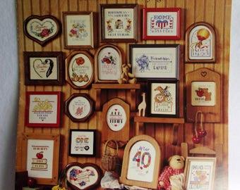 Cross Stitch Pattern - SHORT AND SASSY #3 - 50 More Minature Sayings  Leisure Arts Patterns