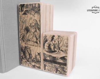 Literary Bookend: Alice's Adventures in Wonderland (Lewis Carroll)