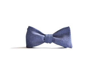 Japanese Silk Bow Tie in Mushi