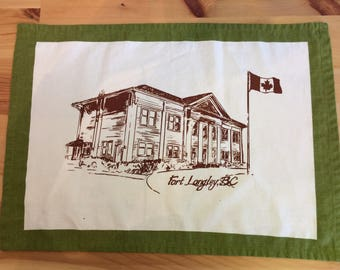 Fort Langley placemat