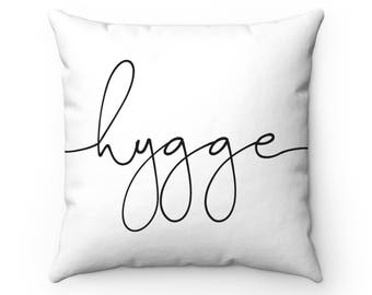Hygge Square Pillow With Insert