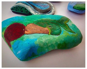 Disney Princess Painted Rocks