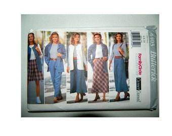 Butterick 4403 Pattern - Women's Career Casual Wear