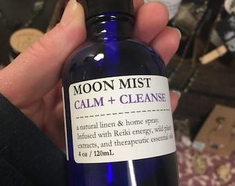 Moon Mist: Calm & Cleanse Linen and Home Spray