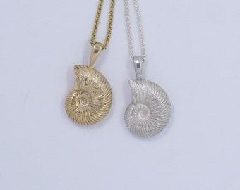 Medium Ammonite pendant