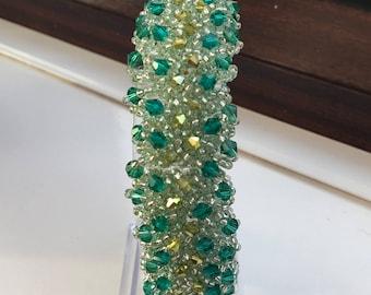 Ladies Bracelet, Crystal Bracelet, Adjustable Beaded Bracelet, Gift for Women, Sparkly Bracelet