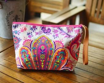Handbags Clutch Bag Wrist let Toiletry Bag Cosmetic Bag Clutch Purse Hipster Bags, Handbag Bag Hippie Boho Woven Summer Hobo Yoga.